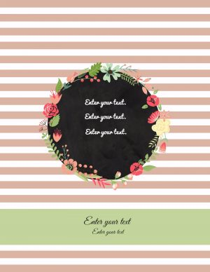 Free personalized and printable binder covers