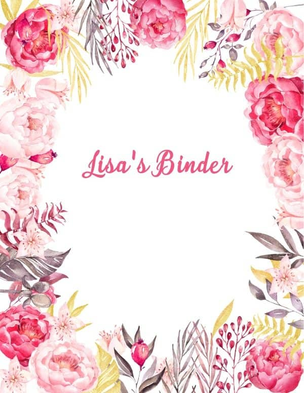 Free Binder Cover Templates – Binder Cover Template