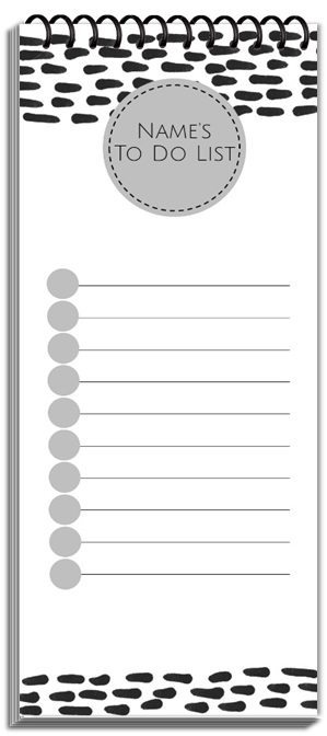 Custom note pad