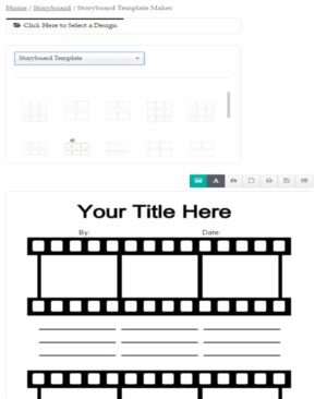 How to select a template