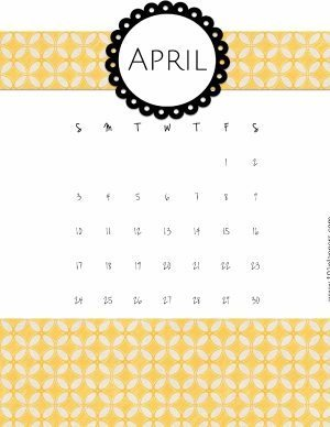 template with white background and a yellow pattern