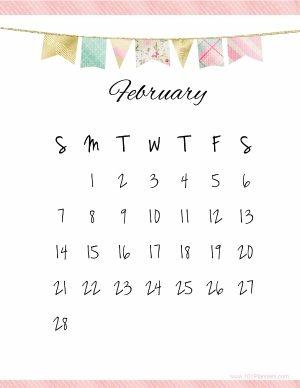 Cute calendar