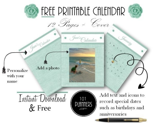 Free April 2020 Calendars | 101 Different Designs and Borders