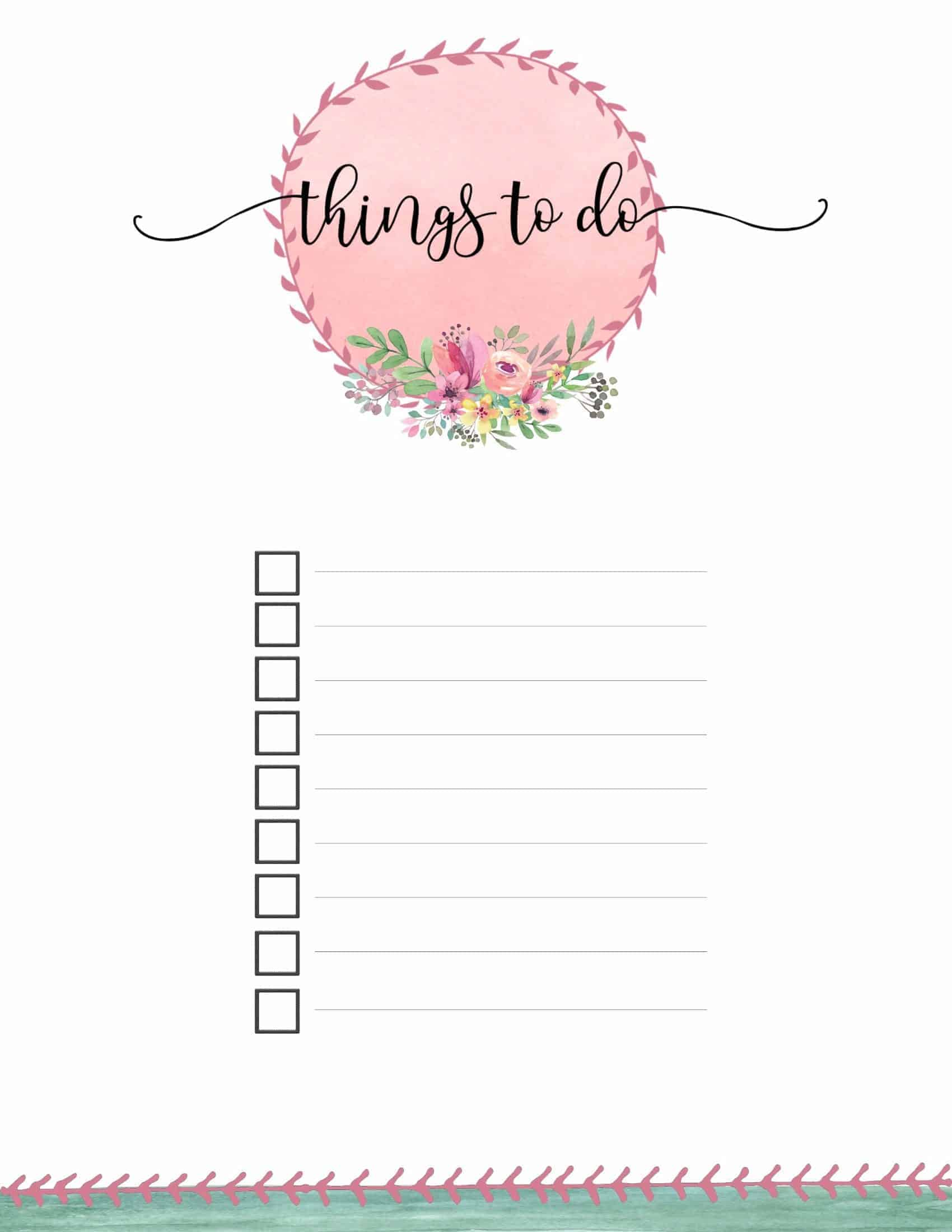 cute to do list template koni polycode co