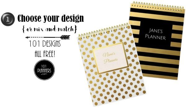 Choose a design for your planner