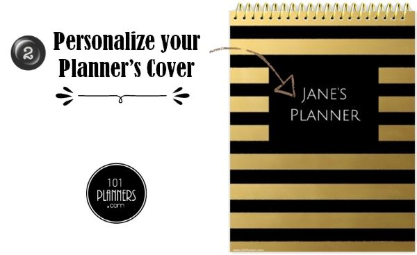 create planner cover