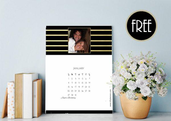 custom calendar free