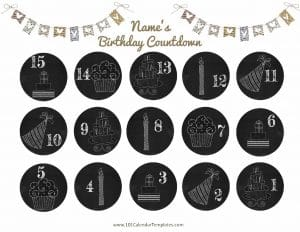 countdown birthday