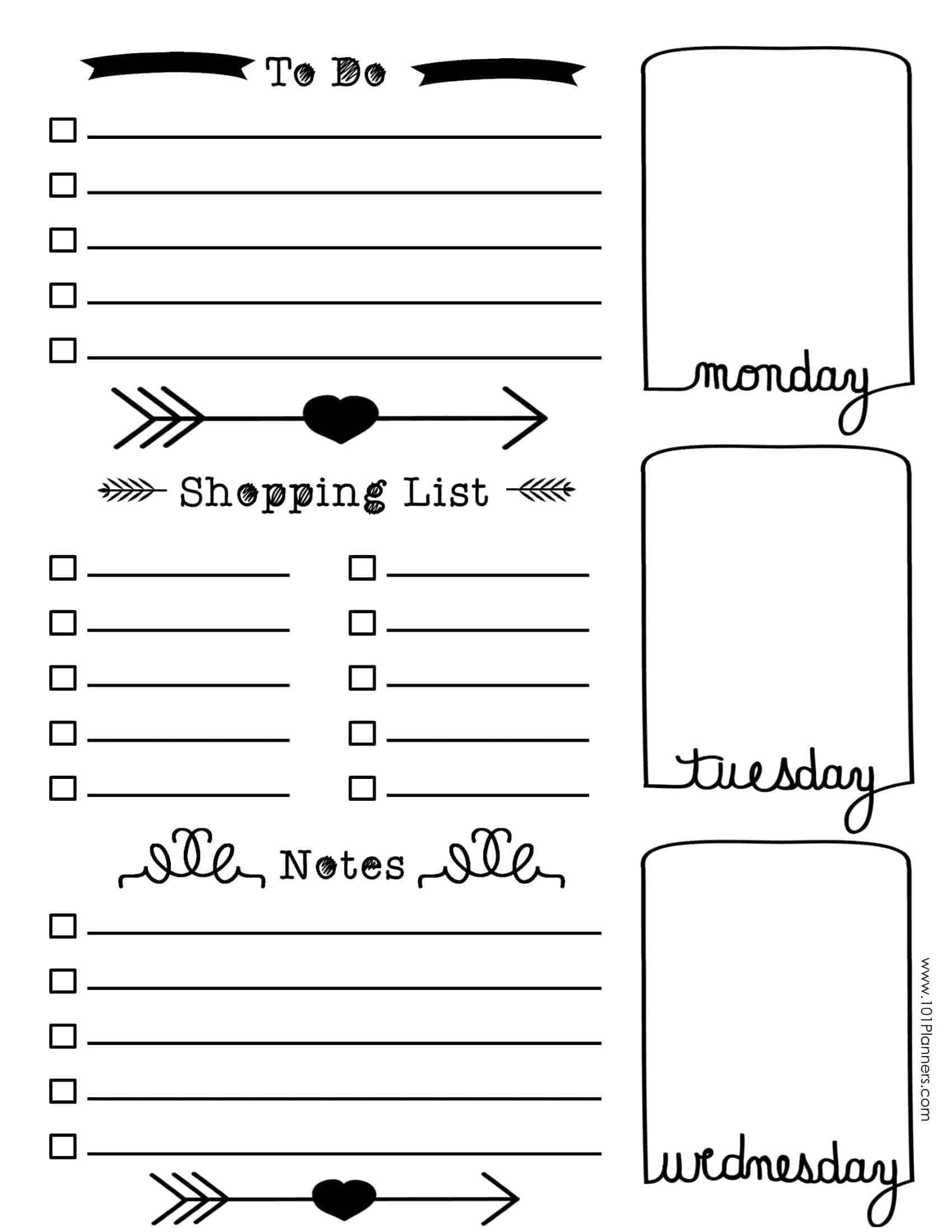 It is an image of Dashing Free Bullet Journal Printables 2020 Pdf