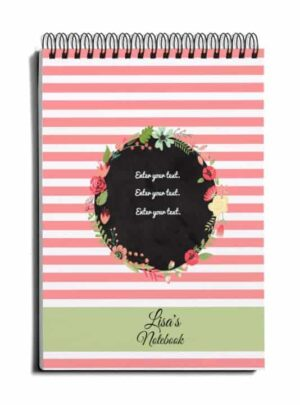 pretty notebook