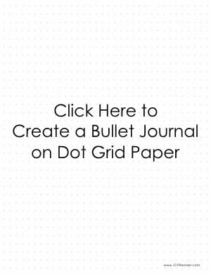 Dot grid paper