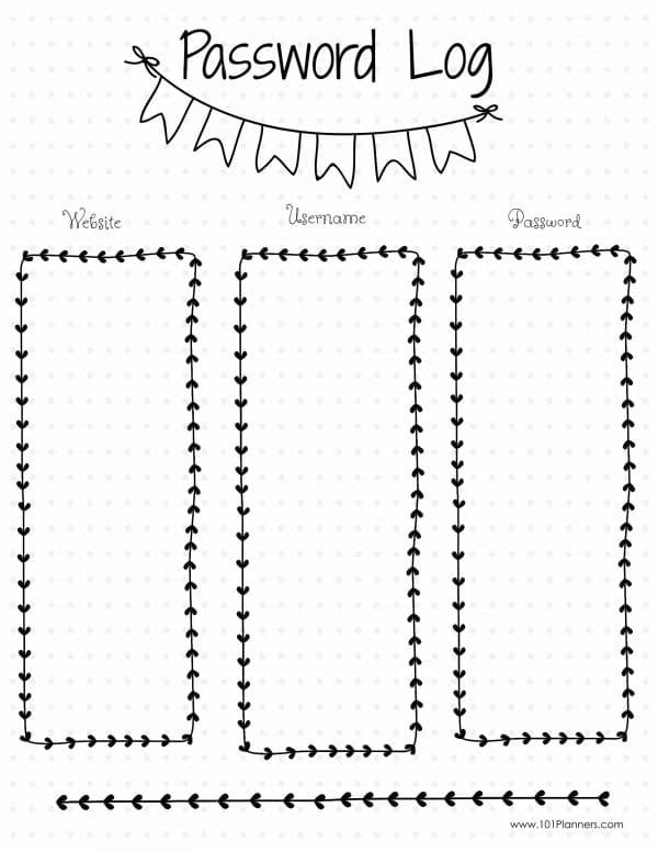 Calendar Notebook App : Bullet journal ideas