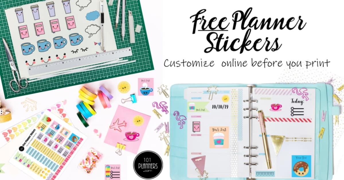 Clean Printable Stickers Erin Condren Planner Stickers Cut Files 70/% OFF Sale Clean Printable Planner Stickers
