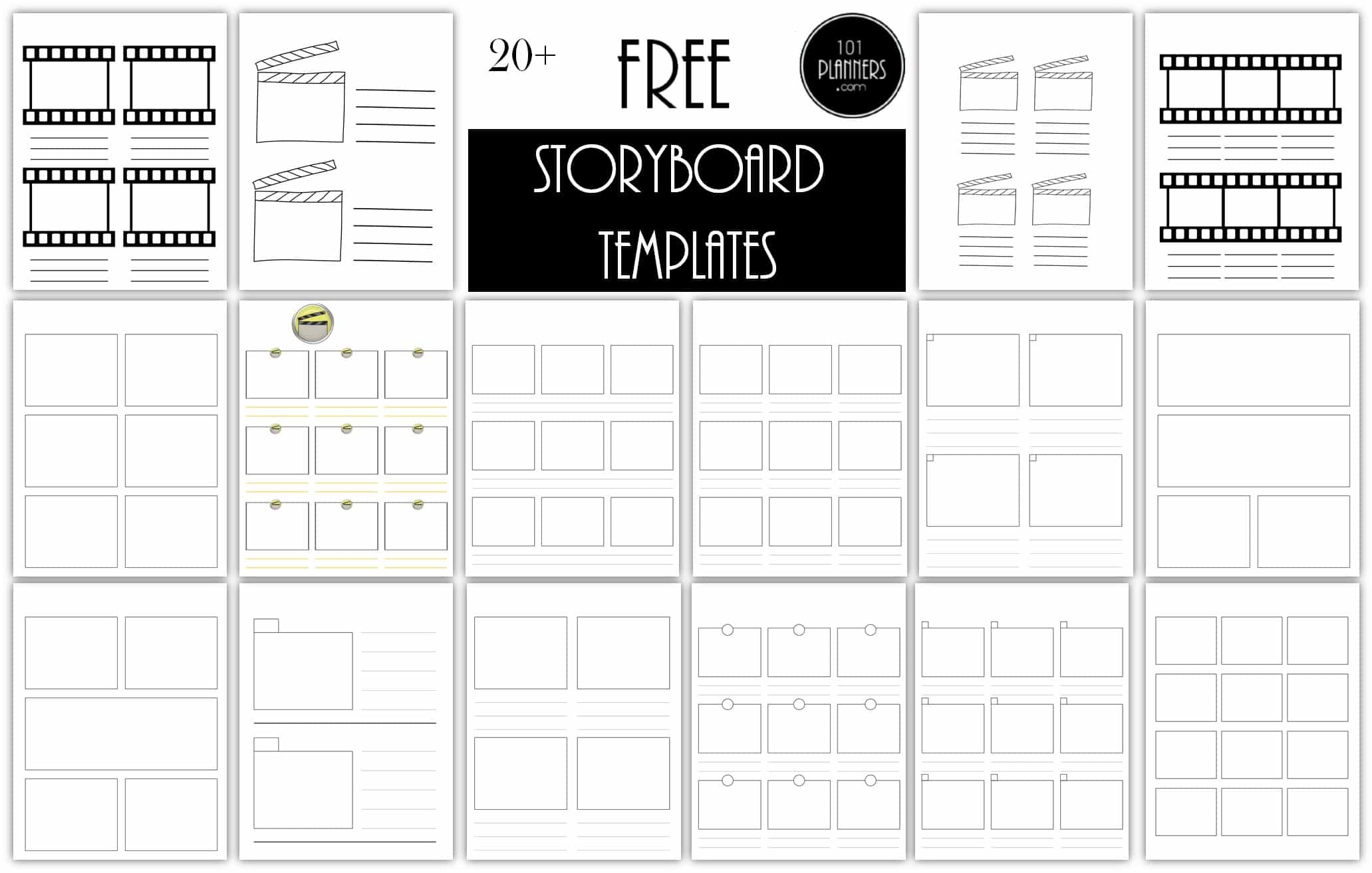 Free storyboard template maker storyboard templates saigontimesfo