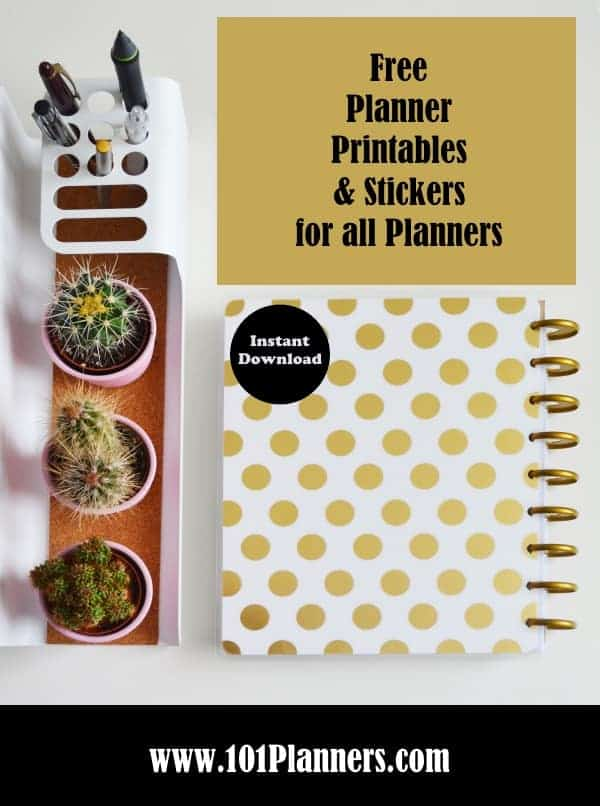 It's just a picture of Free Personal Planner Printables throughout downloadable