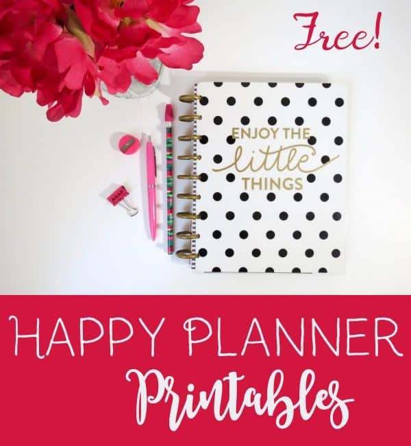 photograph about Happy Planner Monthly Layout Printable identified as No cost Pleased Planner Printables Customise On line Print at Property