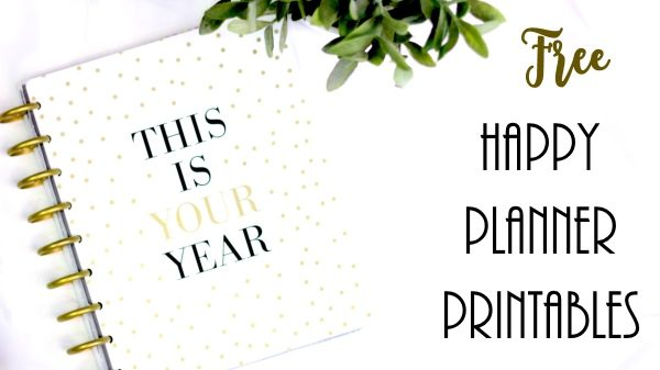 picture regarding Happy Planner Monthly Layout Printable identified as No cost Pleased Planner Printables Personalize On the internet Print at Property