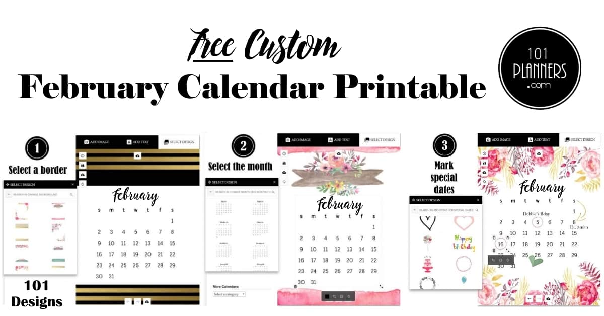Weight Loss Calendar February 2020 February 2020 Calendar | Fee Customizable Printable