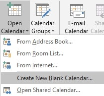 how to print a calendar with outlook