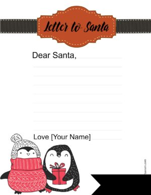 Send Christmas list to Santa
