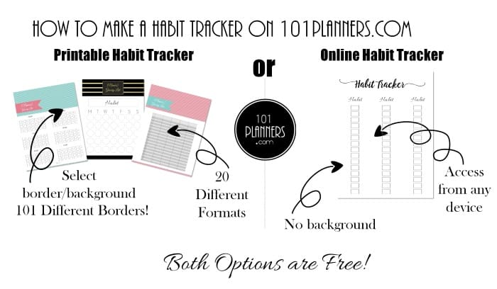 image about Habit Tracker Printable Free named Cost-free behavior tracker printable Customizable Instantaneous obtain!