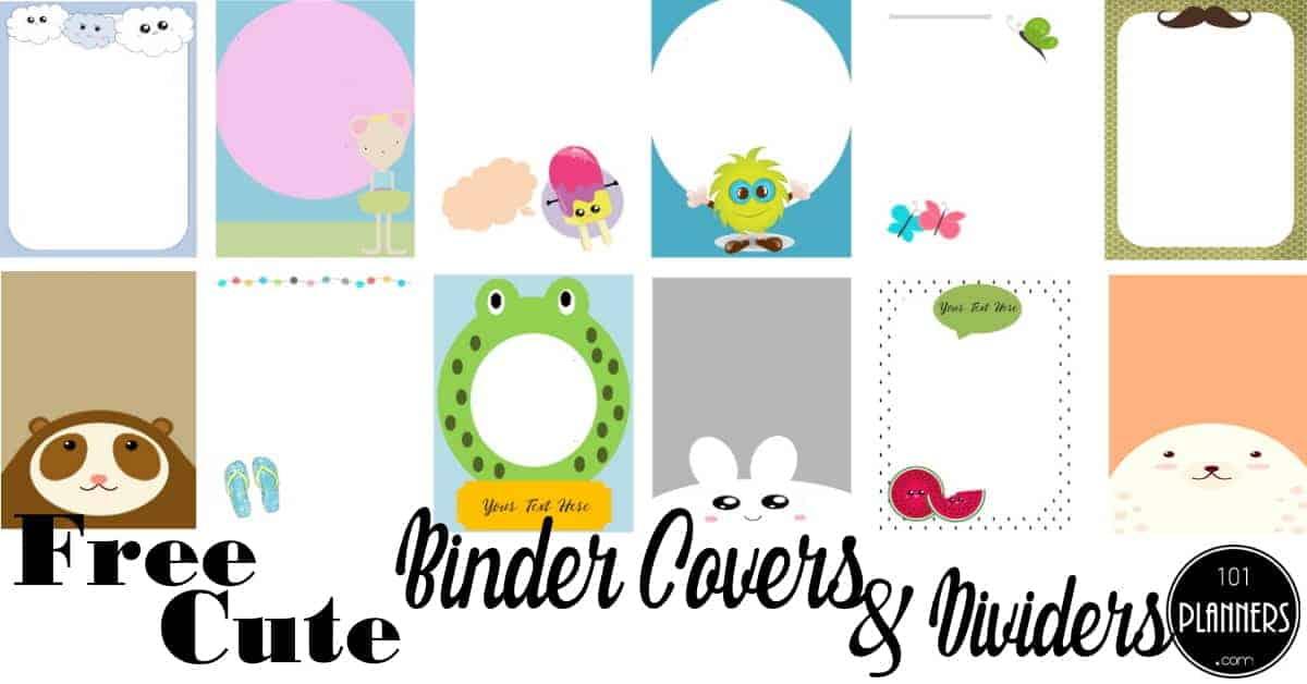 Create Binder Cover Online Free Golon Wpart Co