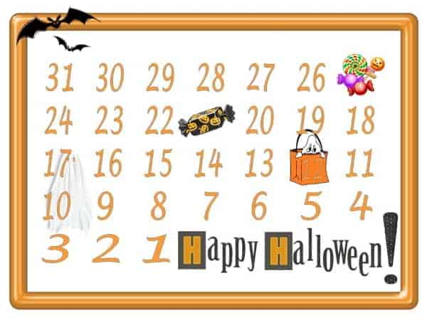 How many days until Halloween