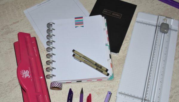 Happy planner dot grid paper