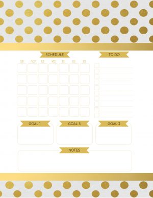 Monthly only planner
