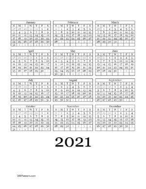 Year at a glance 2021